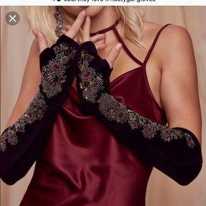 Courtney Love x nastygal gloves